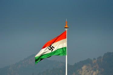 india flag nazi1